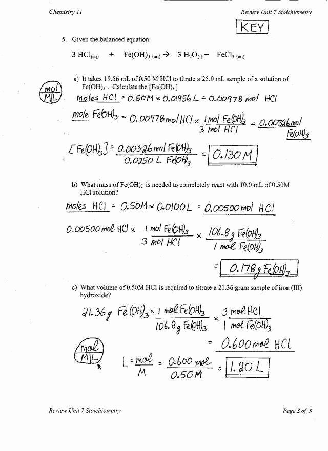 Molar Conversion Worksheet Answers Elegant Mole Conversions Worksheet