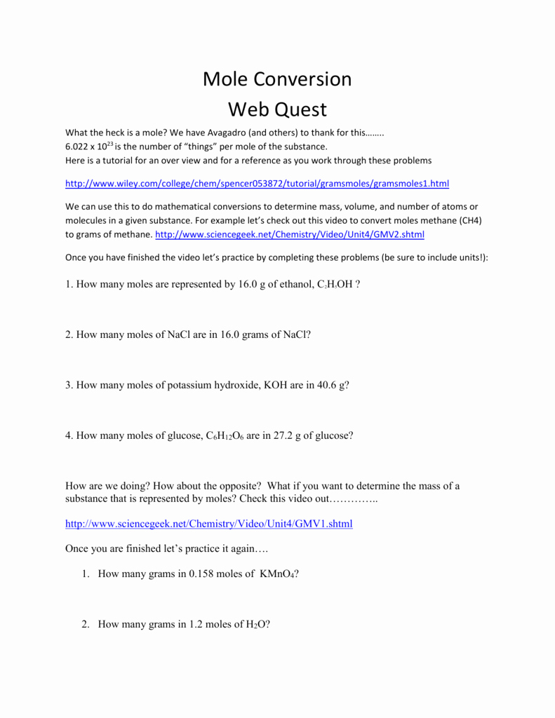 Molar Conversion Worksheet Answers Inspirational Worksheets Mole Conversion Worksheet Answer Key