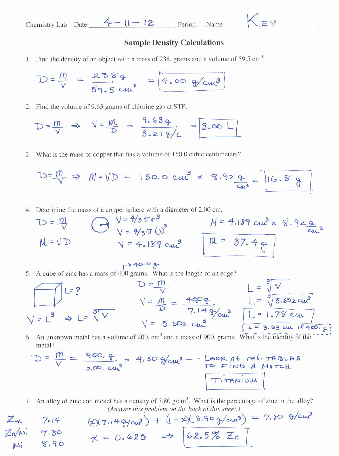 Molar Mass Worksheet Answer Key Awesome Molar Mass Worksheet Answers with Work the Best Worksheets