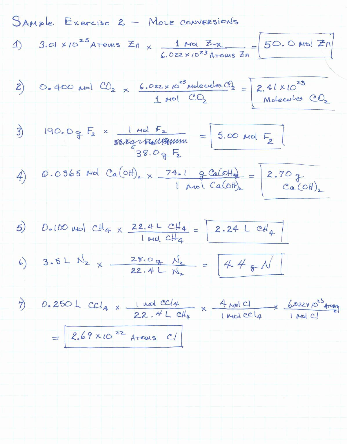 Molar Mass Worksheet Answer Key Best Of Molar Mass Worksheet Answers