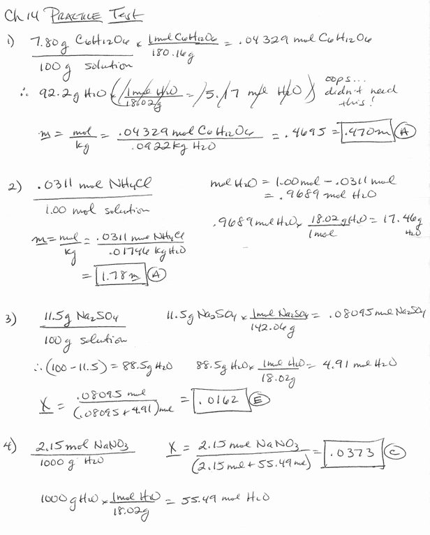Molarity Practice Worksheet Answer Fresh Molarity Worksheet