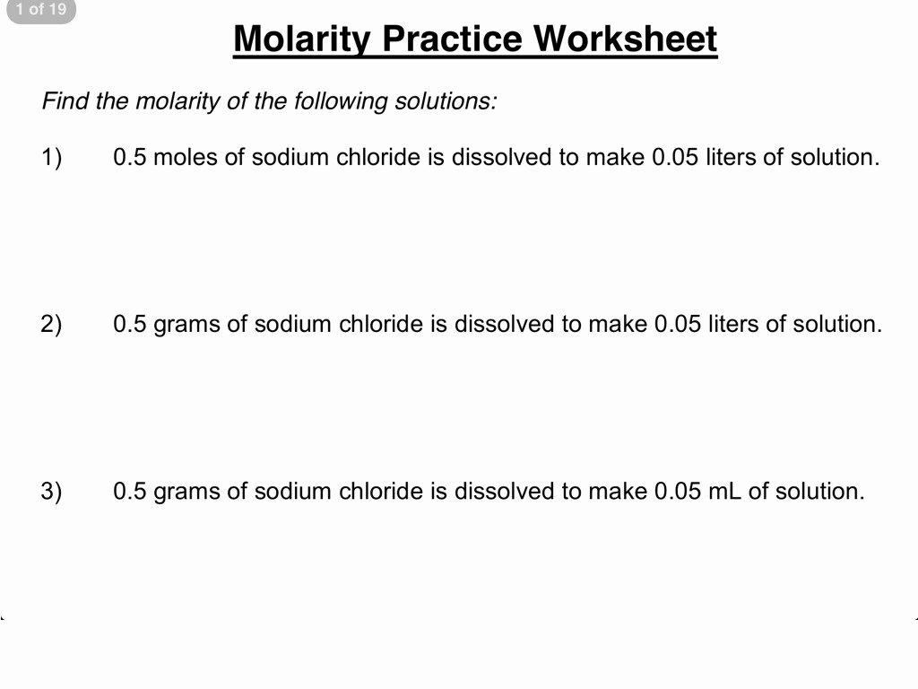 Molarity Worksheet Answer Key Inspirational Worksheet solutions Worksheet Answers Grass Fedjp