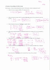 Molarity Worksheet Answer Key New solutions for Dilutions Worksheet Practice Problems On