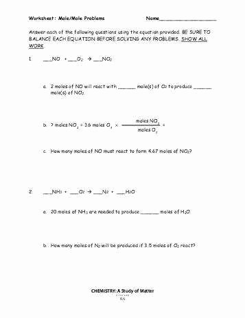 Moles Molecules and Grams Worksheet Awesome Moles Molecules and Grams Worksheet