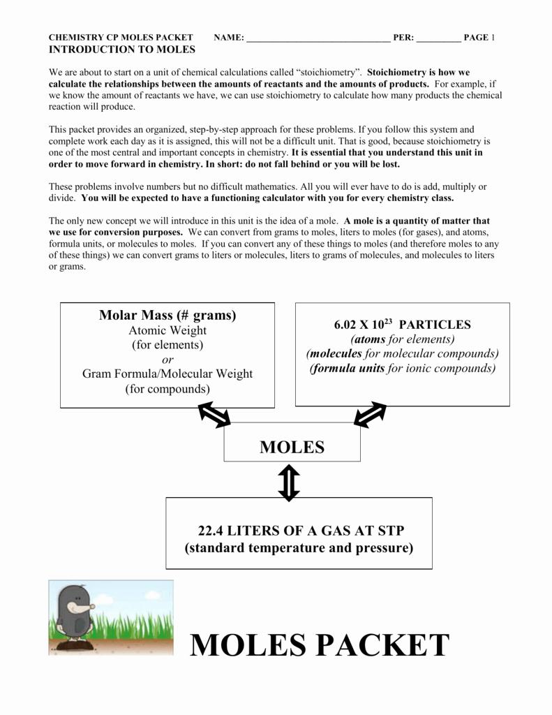 Moles Molecules and Grams Worksheet New Worksheet Moles Molecules and Grams Worksheet Worksheet