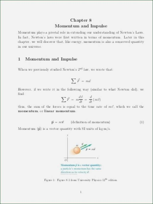 Momentum and Collisions Worksheet Answers Unique Momentum and Impulse Worksheet