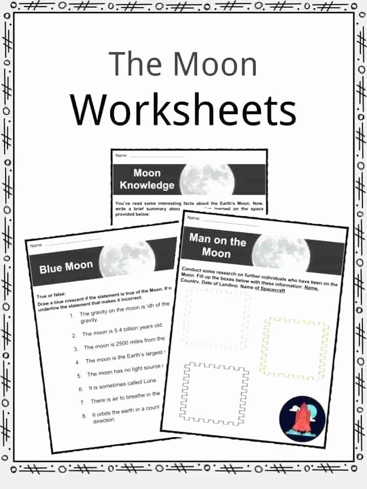 Moon Phases Worksheet Pdf Luxury Phases Of the Moon Printable Worksheets – Skgold