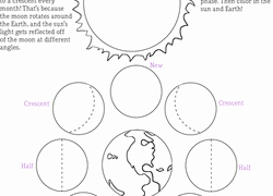 Moon Phases Worksheet Pdf Unique 3rd Grade Earth & Space Science Worksheets & Free