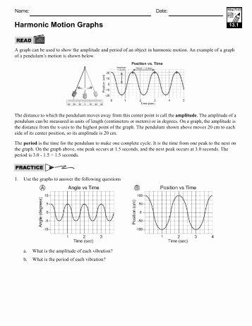 Motion Graphs Worksheet Answer Key New Worksheet B Interpreting Motion Graphs Strickland Science