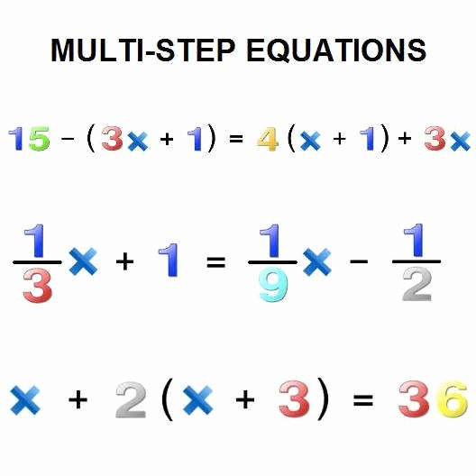 Multi Step Inequalities Worksheet Best Of solving Two Step Equations Worksheet