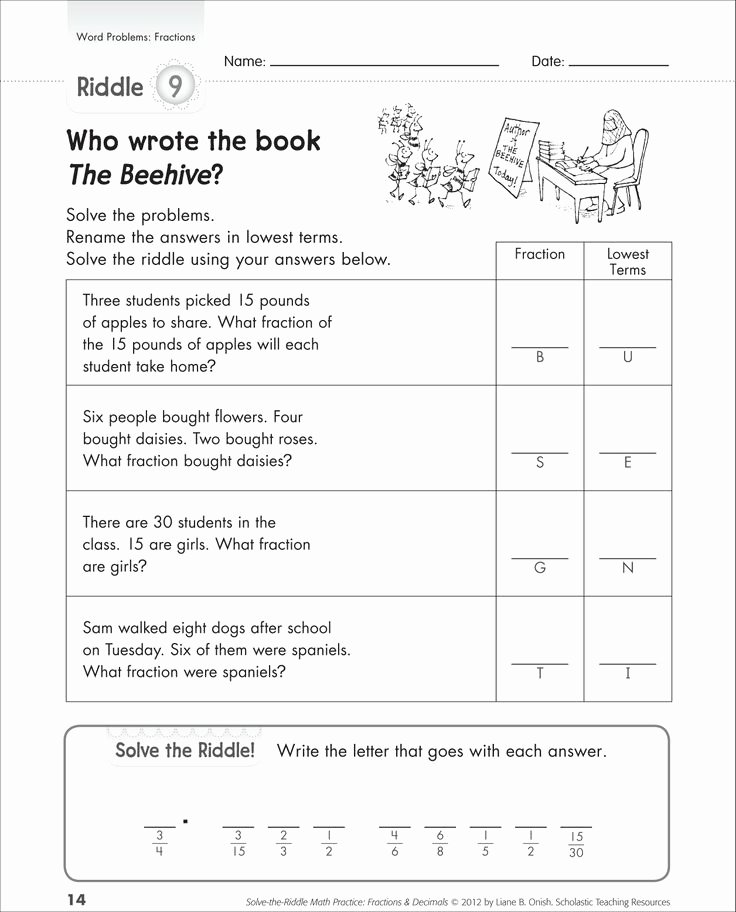 Multiplication Fraction Word Problems Worksheet Awesome Help Your Kids Learn Fractions with these Word Problems