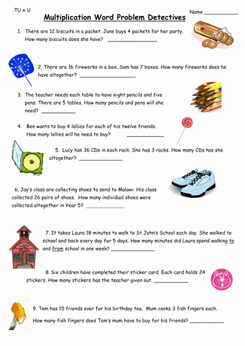Multiplication Fraction Word Problems Worksheet Best Of Multiplication Word Problems by Ali273