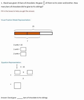 Multiplication Fraction Word Problems Worksheet Fresh Fractions Worksheets 4th Grade 5th Grade Multiplying