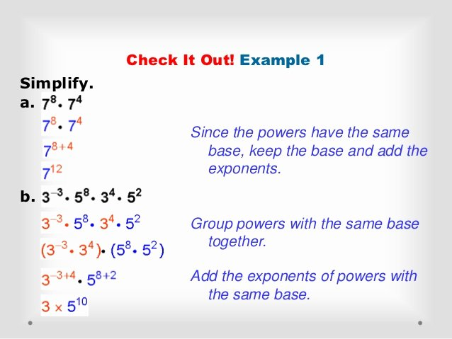 Multiplication Properties Of Exponents Worksheet Luxury Multiplication Properties Of Exponents
