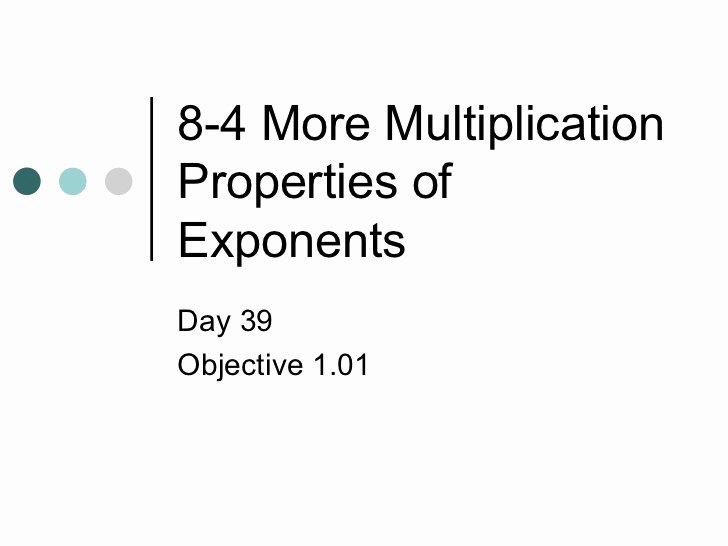 Multiplication Properties Of Exponents Worksheet Unique More Multiplication Properties Of Exponents