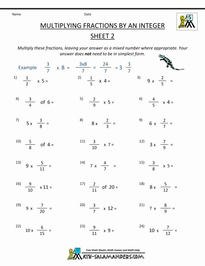 Multiply and Divide Integers Worksheet Luxury Multiplying Integers Worksheet