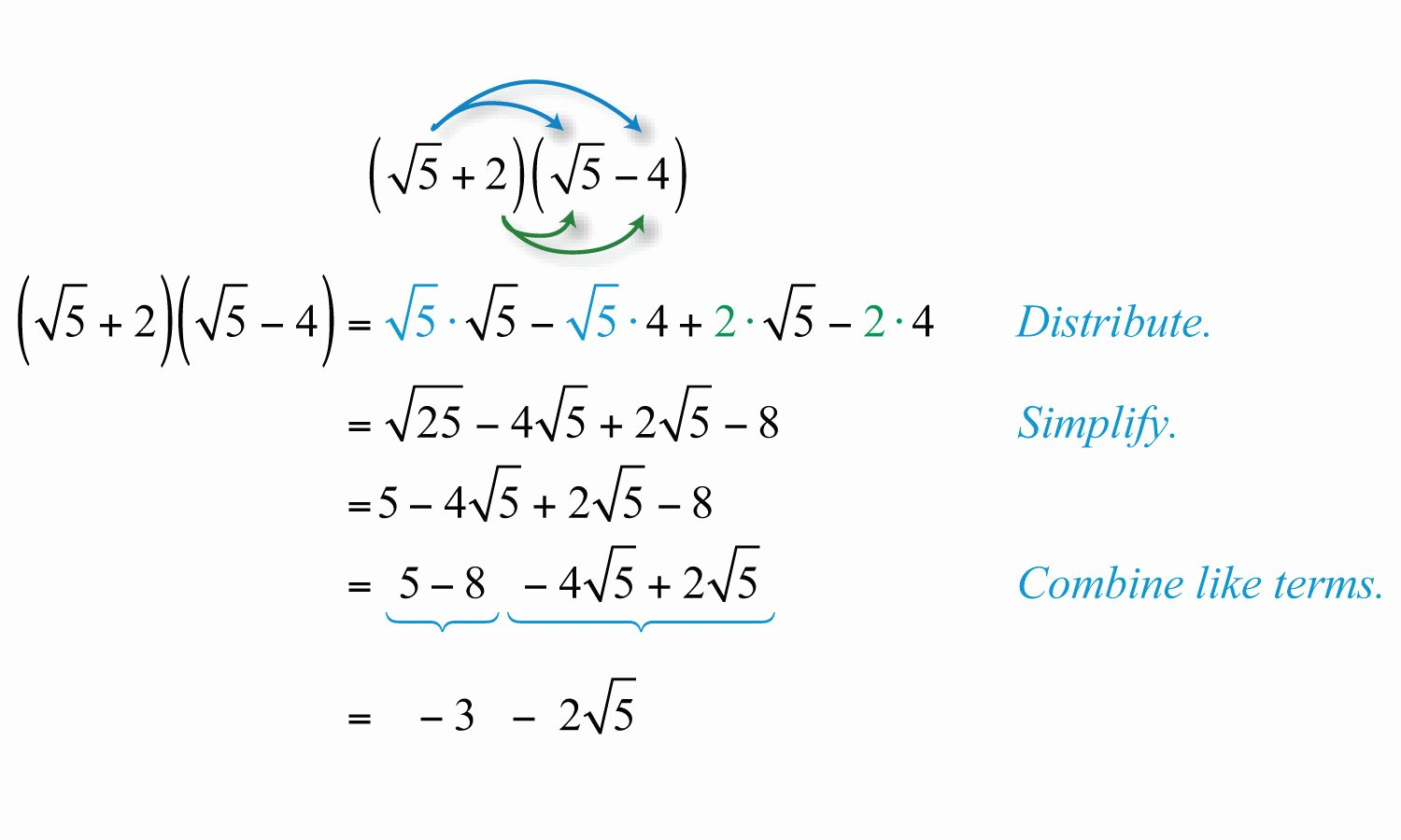 Multiply Radical Expressions Worksheet New Multiplying and Dividing Radical Expressions