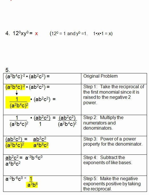 Multiplying and Dividing Monomials Worksheet Lovely Multiplying Monomials Worksheet