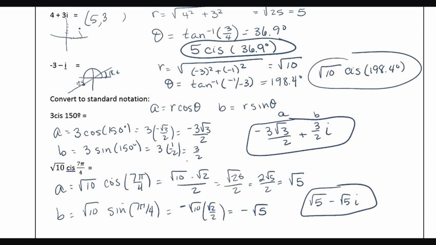 Multiplying Complex Numbers Worksheet Beautiful Plex Numbers to Polar form Electronic Circuit Diagram