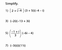 Multiplying Complex Numbers Worksheet Inspirational Plex Numbers Worksheets