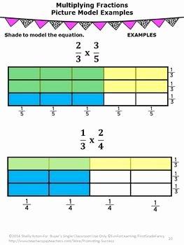 Multiplying Fractions area Model Worksheet Awesome Multiplying Fractions Activities 5th Grade Math Review