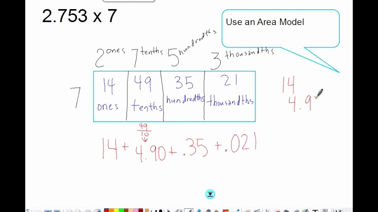 Multiplying Fractions area Model Worksheet Beautiful area Model Multiplying Decimals Math Worksheets area