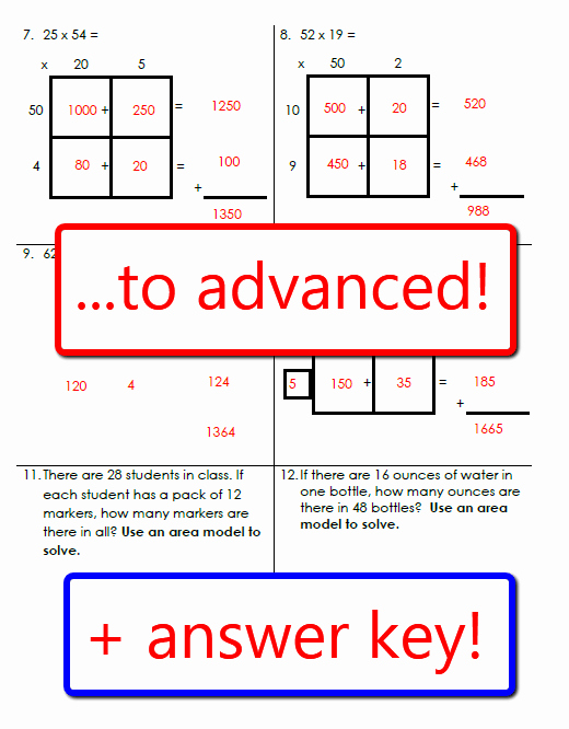 Multiplying Fractions area Model Worksheet Beautiful Mon Core Worksheet Multiplying Decimals Using area