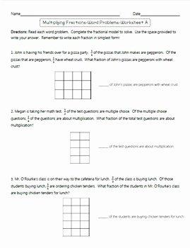 Multiplying Fractions area Model Worksheet Elegant Multiplying Fractions Using area Models Supplement Mon
