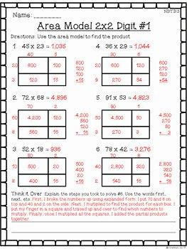 Multiplying Fractions area Model Worksheet Fresh 4th Grade Multiplication & Division Worksheet Pack Multi