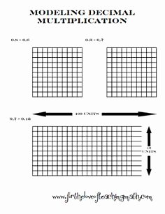 Multiplying Fractions Using Models Worksheet Awesome 1000 Images About Decimals Ideas On Pinterest