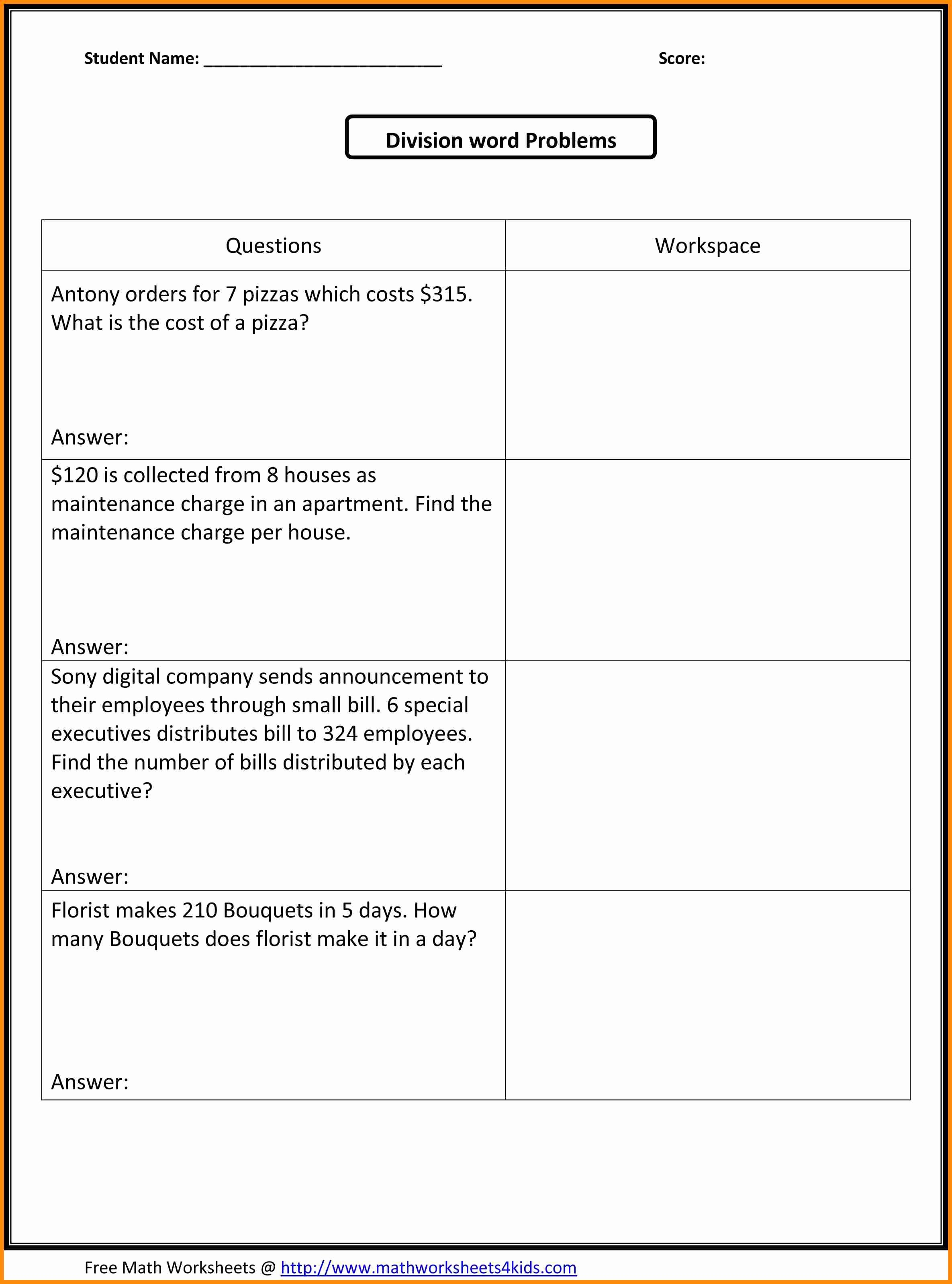 Multiplying Fractions Word Problems Worksheet Awesome Multiplying and Dividing Fractions Word Problems