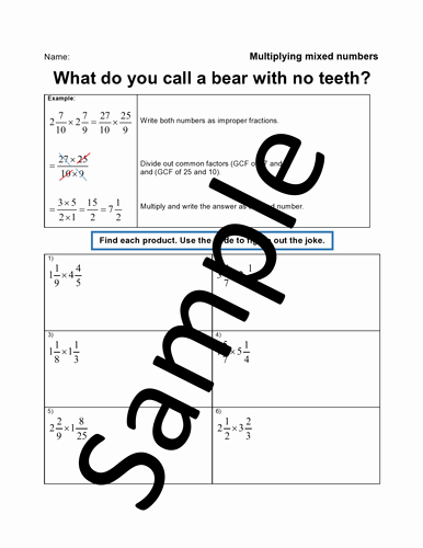 Multiplying Mixed Numbers Worksheet Lovely Mixed Number Worksheet Generator 12 Different topics Of