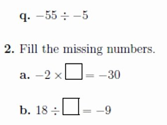 Multiplying Negative Numbers Worksheet Lovely Multiplying and Dividing Integers Worksheets with Answers