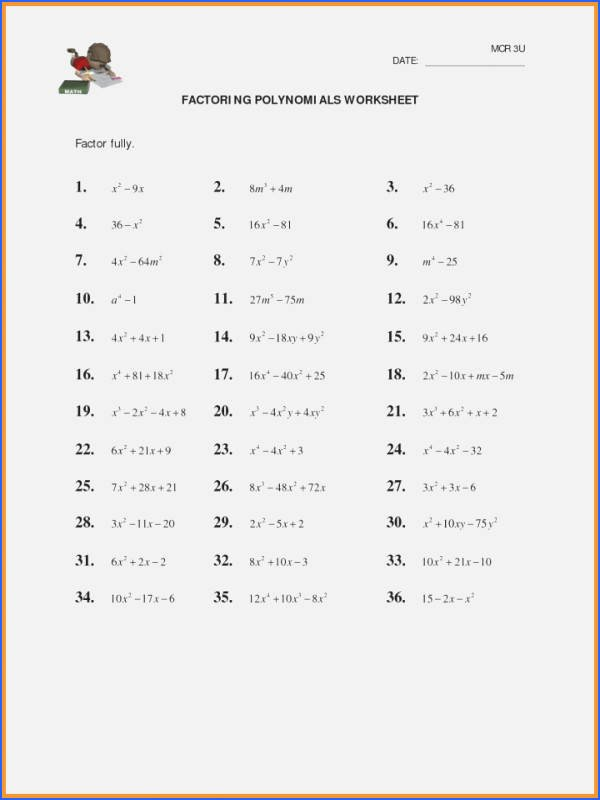 Multiplying Polynomials Worksheet 1 Answers Beautiful Multiplying Monomials Worksheet