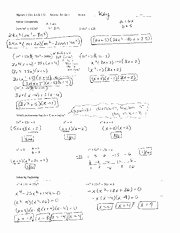 Multiplying Polynomials Worksheet 1 Answers Luxury 14 Best Of Kuta software Factoring Trinomials