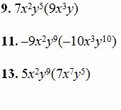 Multiplying Polynomials Worksheet Answers Lovely Multiplying Monimials Worksheet Pdf and Answer Key Over