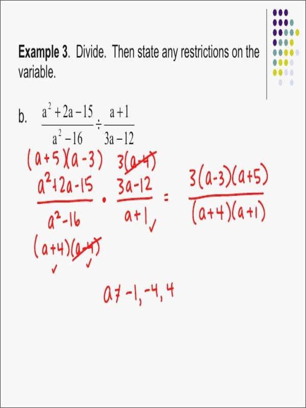 Multiplying Rational Expressions Worksheet Lovely Multiplying and Dividing Rational Expressions Worksheet