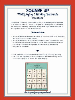 Multiplying Rational Numbers Worksheet Elegant Multiplying & Dividing Rational Numbers Puzzle Decimals