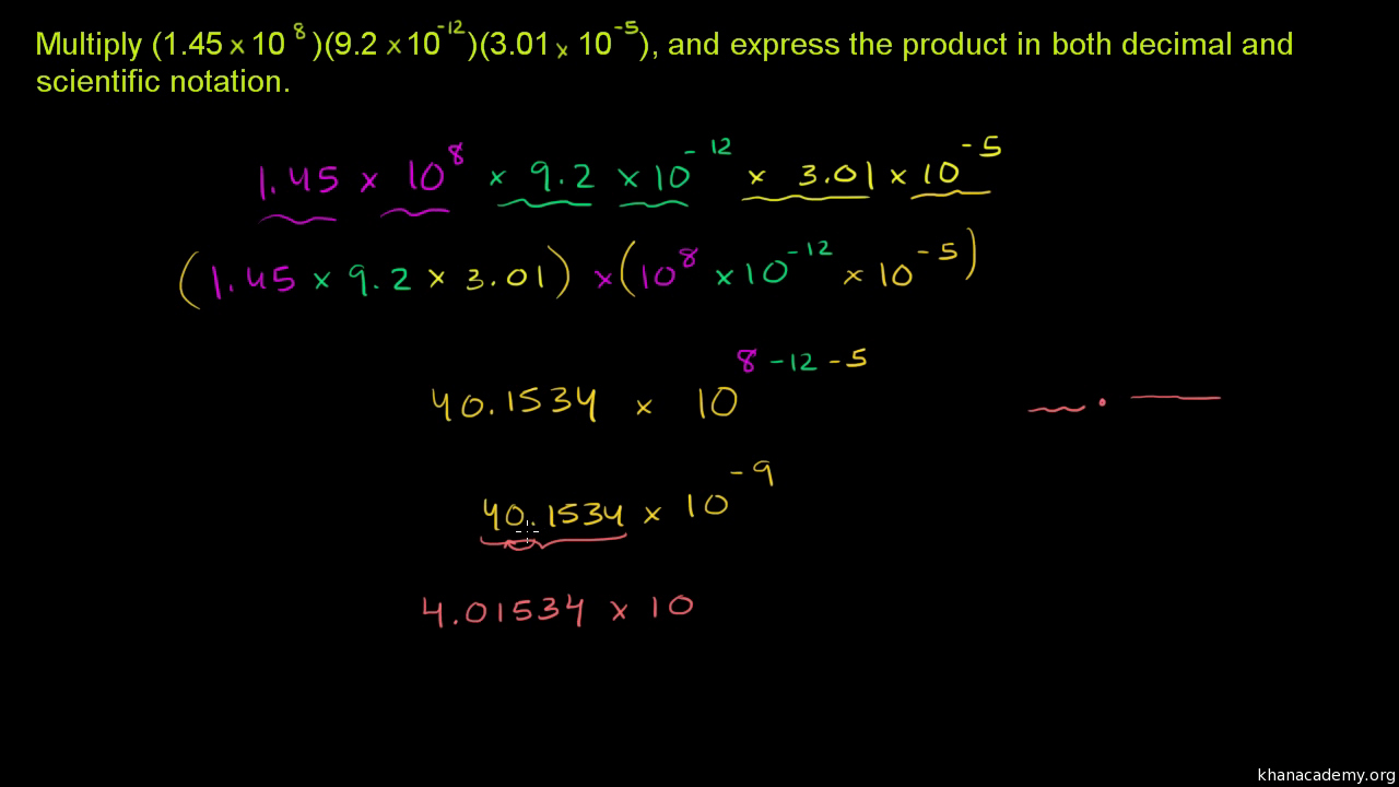 Multiplying Scientific Notation Worksheet New Worksheet Operations with Scientific Notation Grass