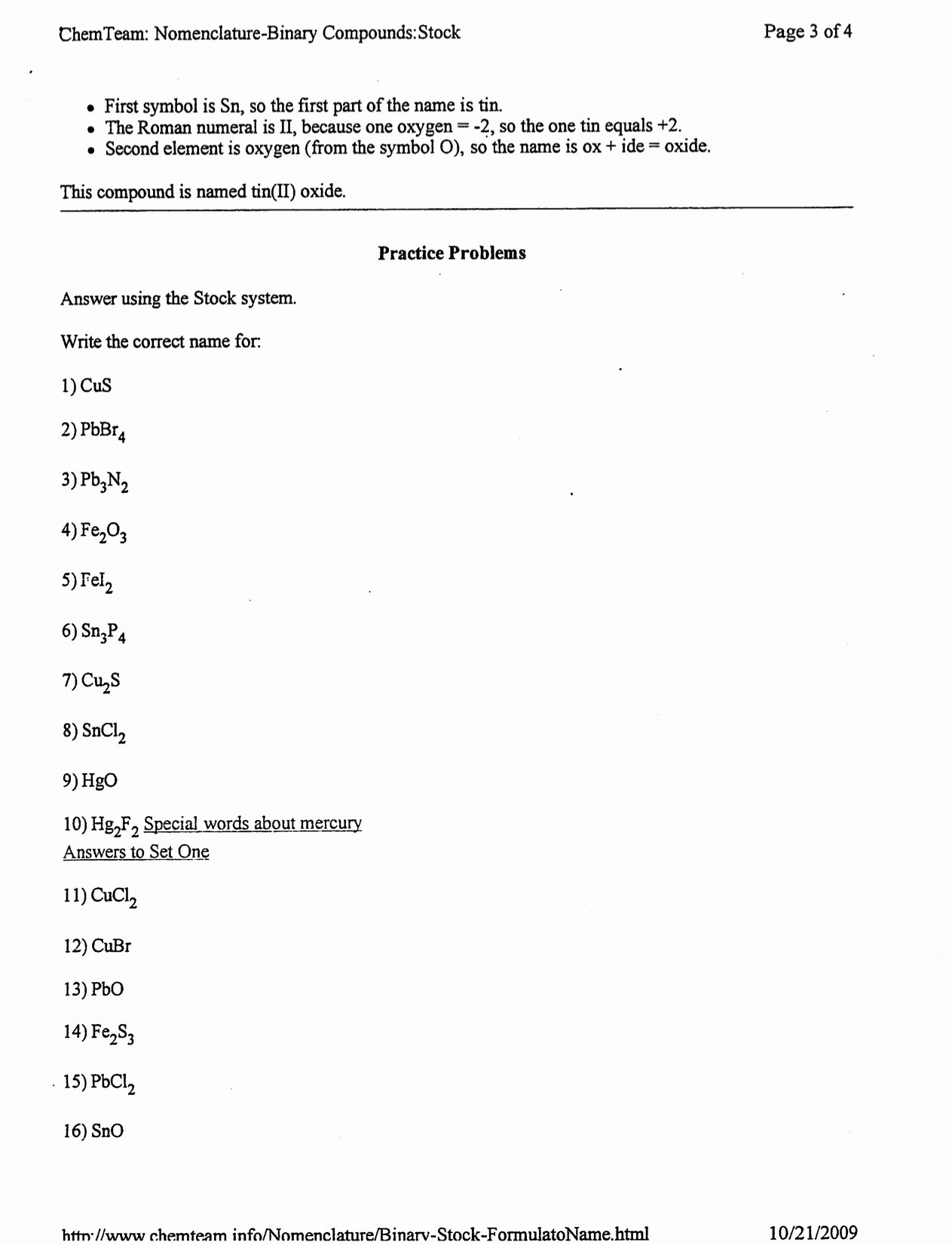 Naming Binary Ionic Compounds Worksheet Elegant Naming Binary Pounds Ionic Worksheet Answers the Best