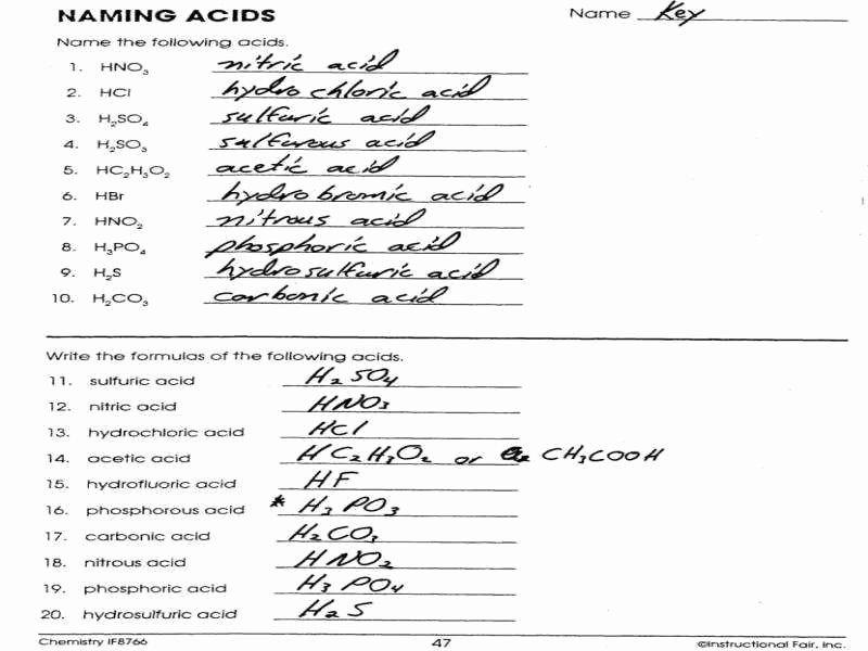 Naming Compounds Practice Worksheet Best Of Naming Pounds Worksheet