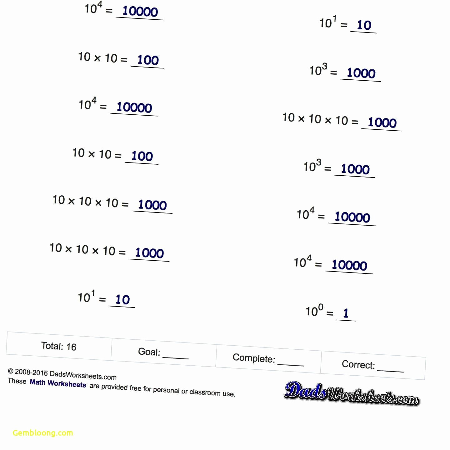 Negative Exponents Worksheet Pdf Elegant Exponents Worksheets Kuta Cramerforcongress