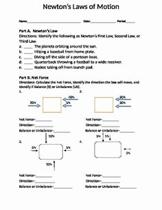 Net force Worksheet Answers Awesome force and Motion forces Quiz