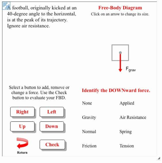 Net force Worksheet Answers Elegant Free Body Diagram Worksheet