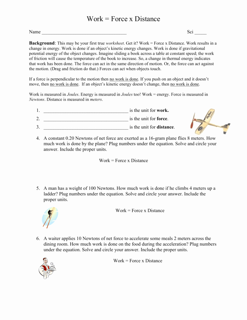 Net force Worksheet Answers Lovely Worksheets Calculating Net force Worksheet Waytoohuman