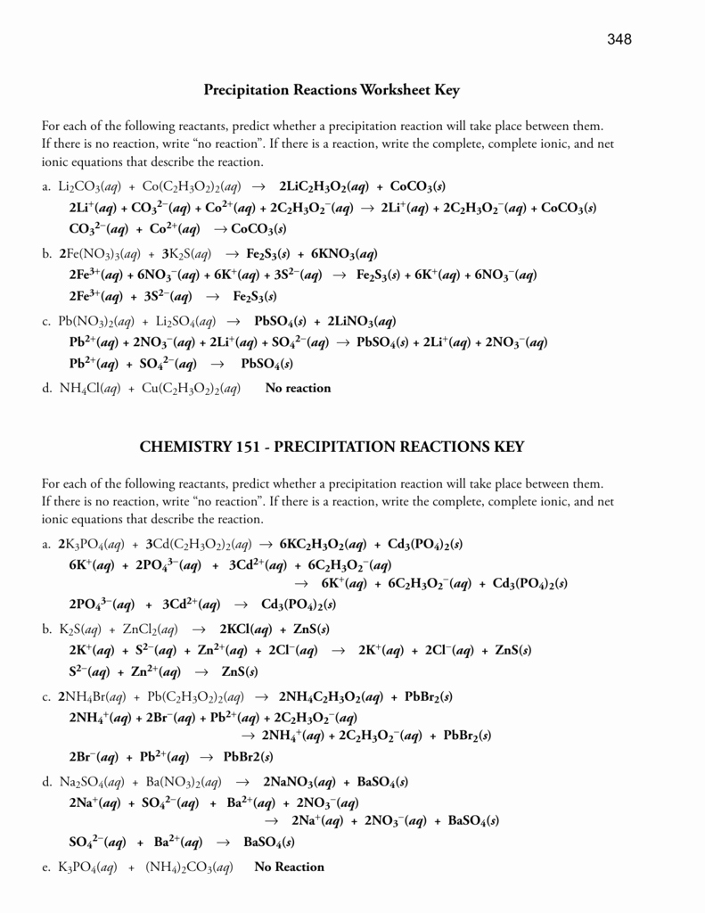 Net Ionic Equations Worksheet Luxury Practice Problems Net Ionic Equations Worksheet Answers
