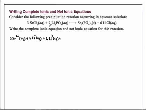 Net Ionic Equations Worksheet New Net Ionic Equations Worksheet