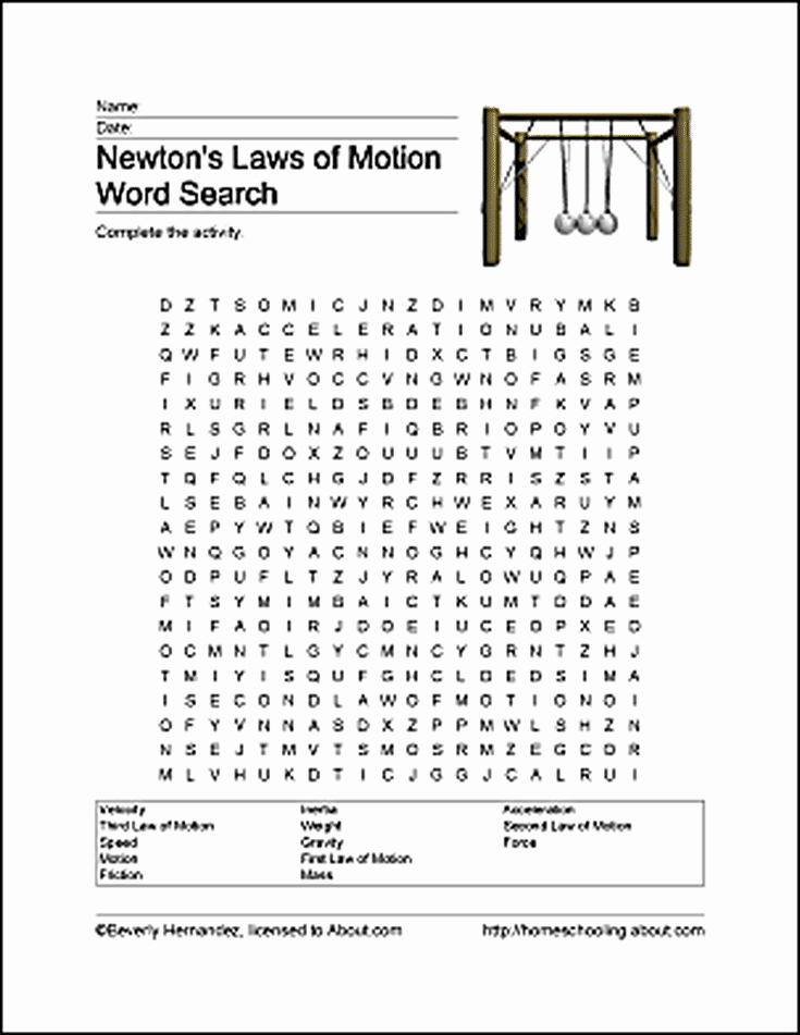 Newton Laws Worksheet Answers Beautiful Fun Ways to Learn About Newton S Laws Of Motion