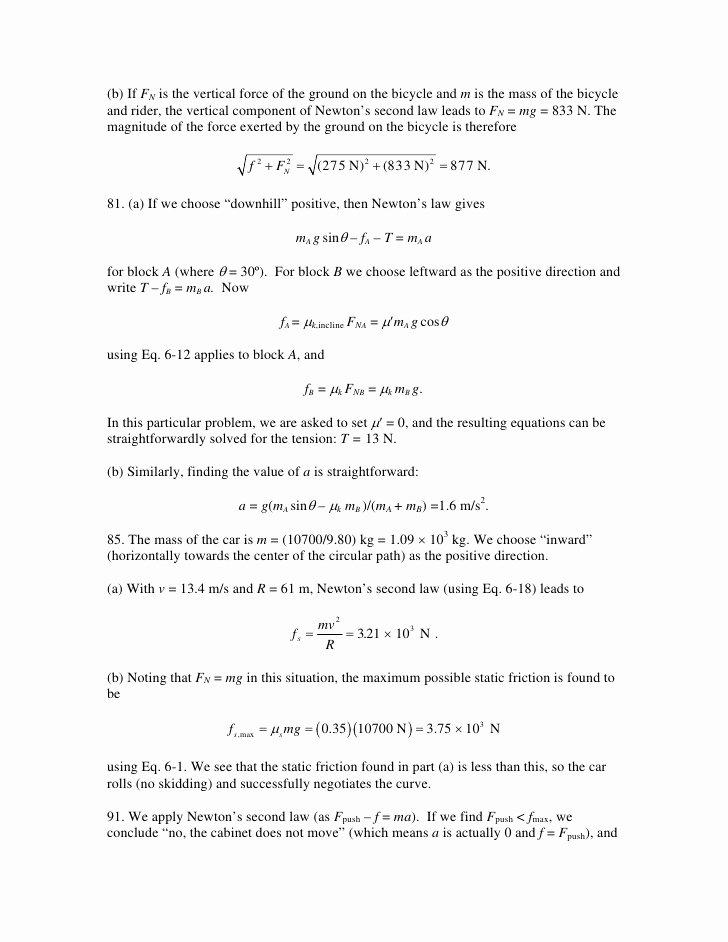 Newton Laws Worksheet Answers Elegant Newtonlawcross Bdfccddfc Newtons Laws Motion Worksheet