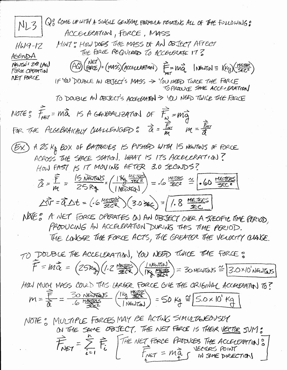 Newton Laws Worksheet Answers New Newton S 2nd Law Problems Worksheet Answers Breadandhearth